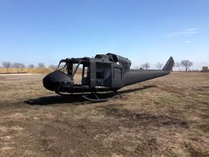 Black HUEY UH-1M