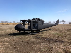 Black HUEY UH-1M